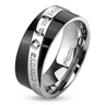 bijoux Bague acier 8mm You Are Always In My Heart